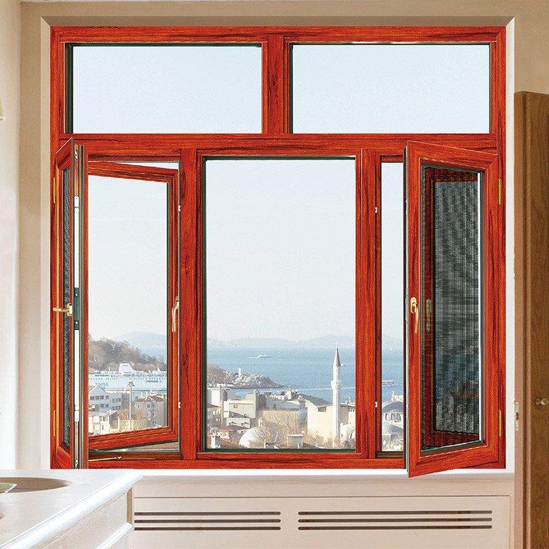 卡菲利(非断桥)窗纱一体平开窗
