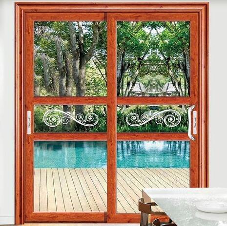 铝合金门窗十大品牌比思特约克吊推门系列