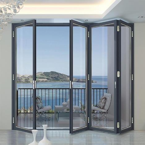 铝合金门窗十大品牌比思特布莱顿重型折叠门系列