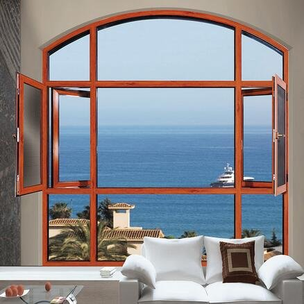 比思特奥本(断桥)窗纱一体平开窗系列