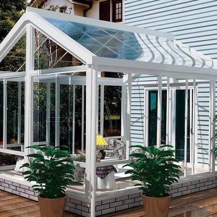 铝合金门窗十大品牌比思特海德堡阳光房系列