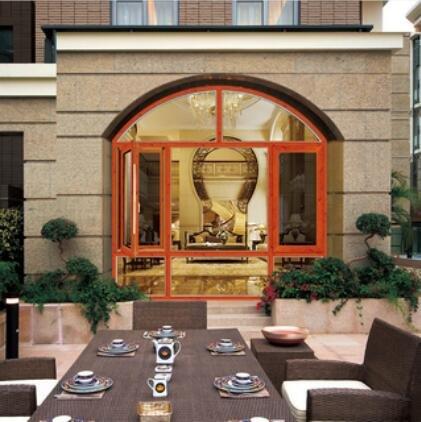 铝合金门窗十大品牌比思特波伊斯(断桥)窗纱一体平开窗系列